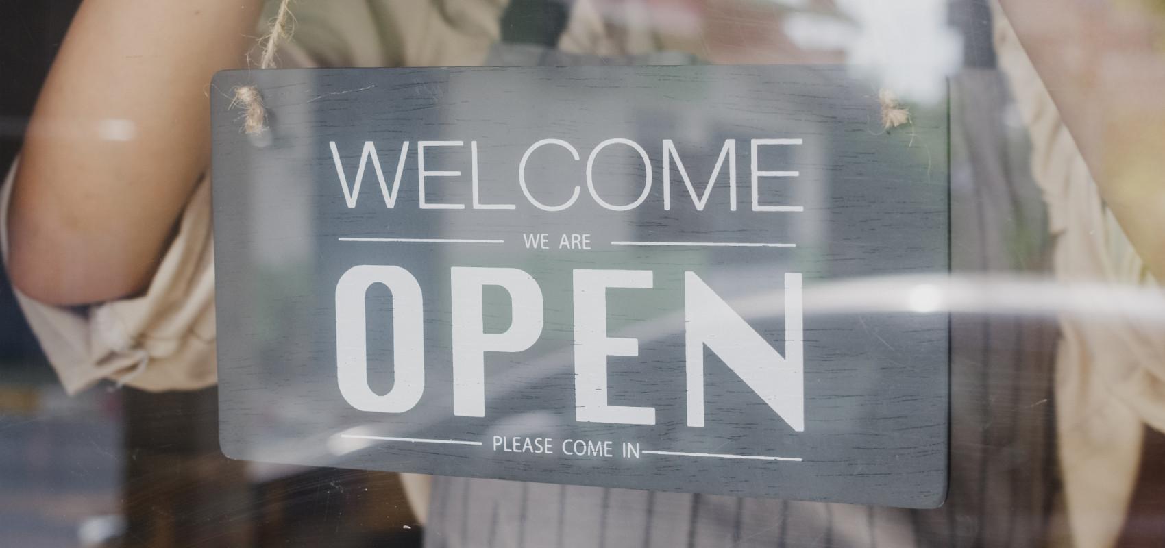 We zijn weer open